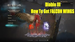 Diablo 3 Hardcore How To Get Falcon Wings PS4/Xbox1