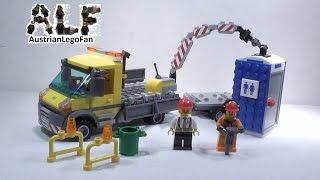 Lego City 60073 Service Truck / Baustellentruck - Lego Speed Build Review