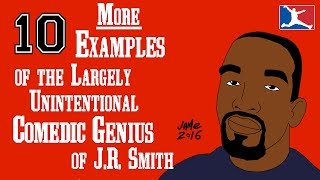 10 MORE Examples of the Largely Unintentional Comedic Genius of J.R. Smith (2nd VIDEO) thumbnail