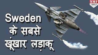 स्वीडन के सबसे खूंखार लड़ाकू Gripen: The Smart Fighte