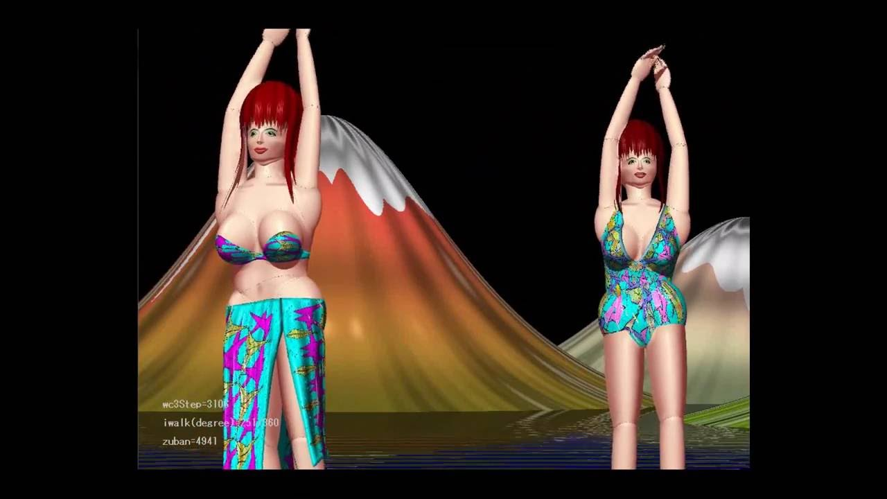 busty half naked girls dancing hula - youtube