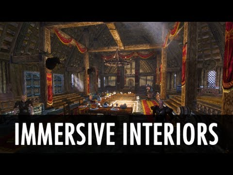 Skyrim Mod: Immersive Interiors   Natural Lighting/Environment