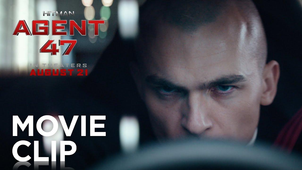 Hitman Agent 47 Garage Escape Clip 20th Century Fox Youtube