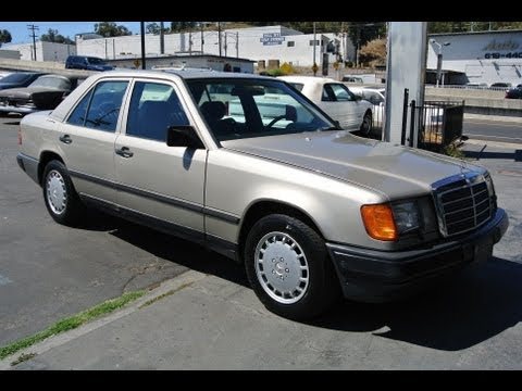 1987 Mercedes Benz 300D W124 Turbo Diesel Turbodiesel 6 Cyl Low Mile 87 300 D E