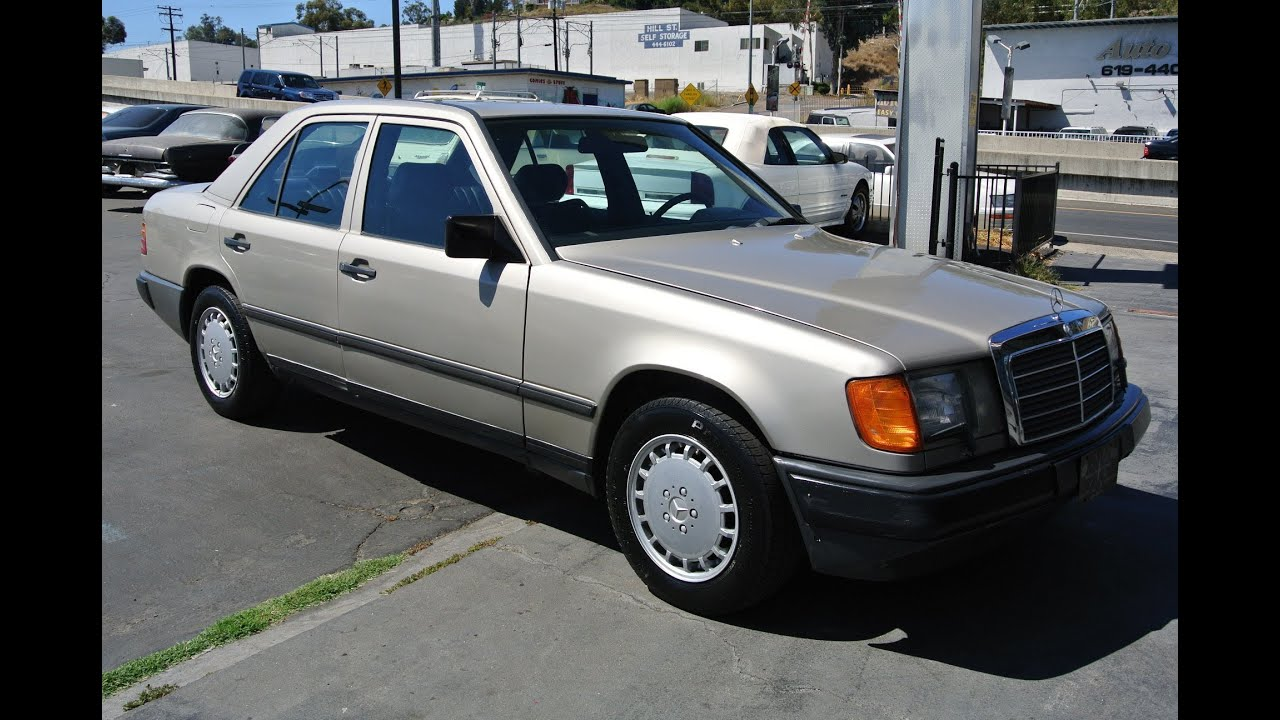 1987 Mercedes Benz 300d W124 Turbo Diesel Turbodiesel 6
