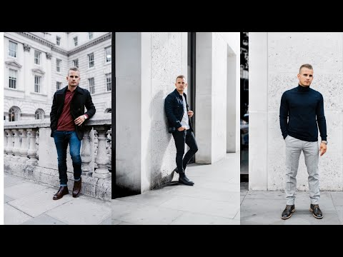 3 EASY AUTUMN OUTFITS FOR MEN 2018    Charlie Irons