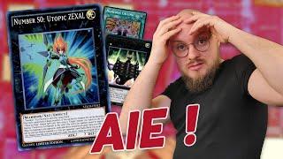 Je découvre les joies du deck Numeron ZEXAL en tournoi !