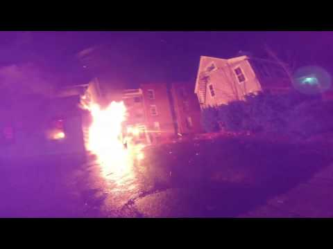 1475 Chapel St 2nd Alarm Vid - (12/7/16)