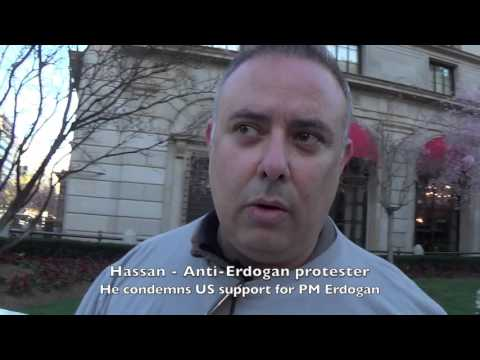 Turkish PM Recep Erdogan Entourage Harasses Turkish-Americans in US
