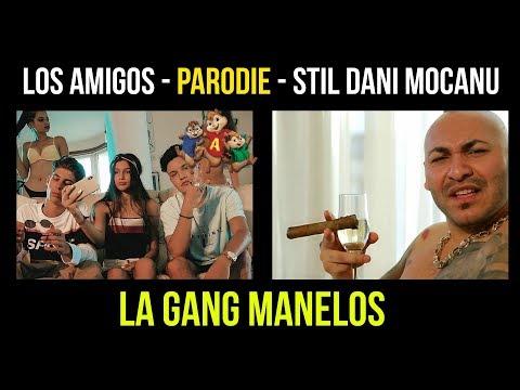 LA Gang Parodie Manelos Amigos - Stil Dani Mocanu