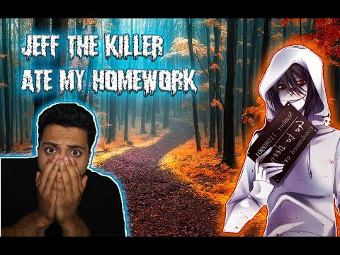 (JEFF ATE MY HOMEWORK!) DON'T WALK HOME AT 3 AM BACK FROM SCHOOL! (JEFF THE KILLER  RETURNS)