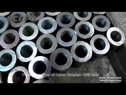 Manufacture rebar coupler