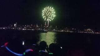NYC Pride Fireworks 2017