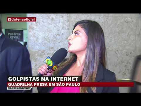 Quadrilha de golpistas da internet é presa em SP