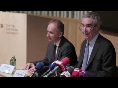 CEU – Press Conference, October 25, 2018