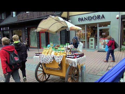 Krupówki Zakopane: sztuka czy kicz? (The Art or Kitsch?), Polska (Poland) [HD] (videoturysta)