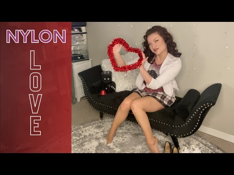 Pantyhose Review Try On / Sheer to Waist / Tan Nylons