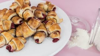 SLADKÁ ADIE: Croissanty s čerstvými malinami