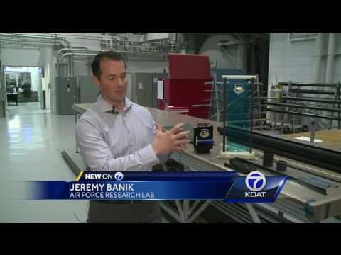 State of the art space material developed in Albuquerque