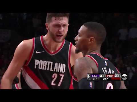 Los Angeles Lakers vs. Portland Trail Blazers - November 3, 2017