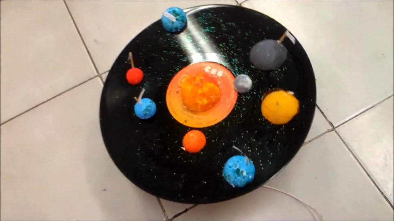 Como Hacer Un Proyecto Del Sistema Solar
