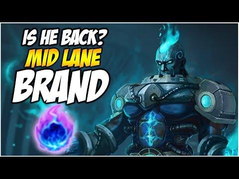 IS MID LANE BRAND BACK? ARCANE COMET | League of Legends