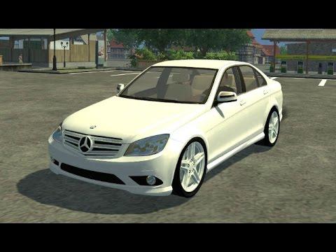 Farming Simulator 2013 Mods - Mercedes Benz C350