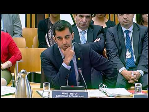 European and External Relations Committee - Scottish Parliament: 26th June 2014