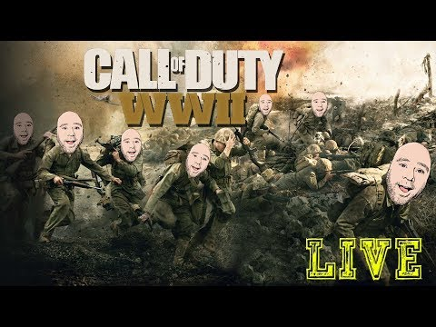 Call of Duty: WWII STORY MODE LIVE! 🎵 Hold my breath as I wi