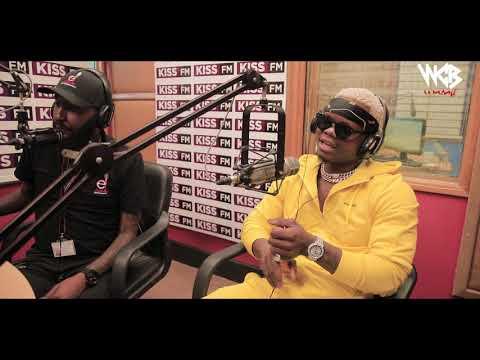 HARMONIZE LIVE INTERVIEW IN KENYA (KISS FM) PART 1