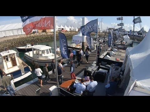 La Rochelle Grand Pavois 2019 ,Stand Tofinou,Wauquiez Et Rhéa Marine , Vidéo By Azurboats