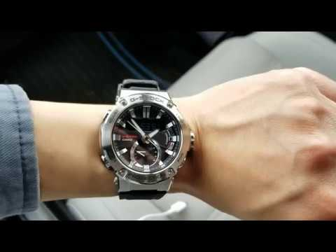G Shock G Steel Gst B200 Unboxing Shaky Phone Video Youtube