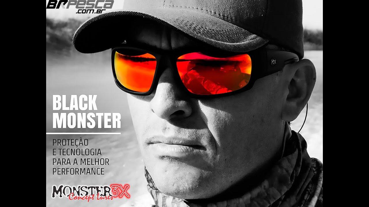 52effeec6 Óculos Polarizado Black Monster da Monster 3X - YouTube