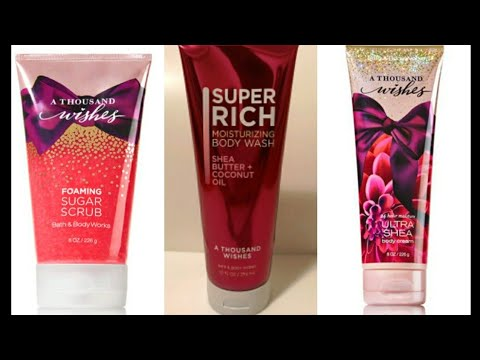 70aff88dbcf24 Bath and Body Works A Thousand Wishes. Its Good - YouTube