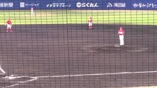 前田健太VS山田哲人、田中浩康。2015/04/15。