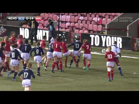 Scotland Women | All the tries from the 2017 Women's Six Nations
