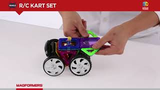 Magformers Remote Controlled Rally Kart Set.