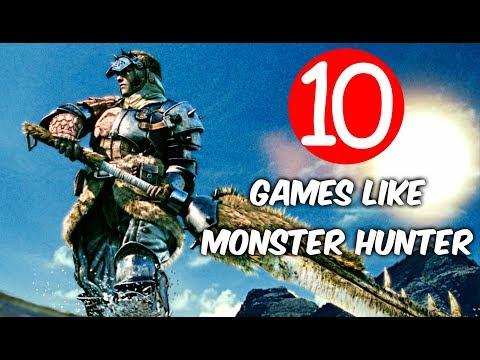 Top 10 Games Like Monster Hunter