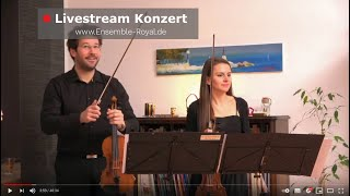 11. Livestream Konzert - ENSEMBLE ROYAL @ home