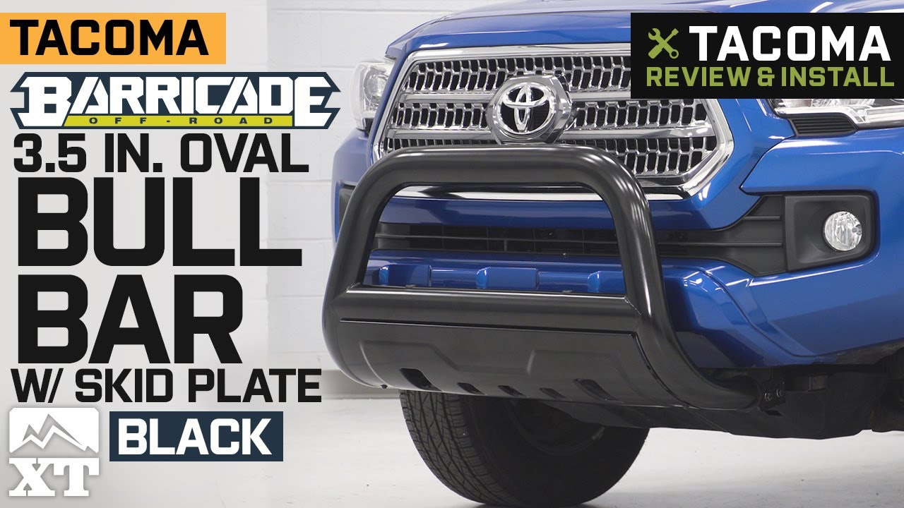 Black Horse Stainless Bull Bar Brush Guard Fits 2015 2019 Colorado Canyon