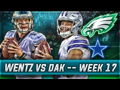 WENTZ VS DAK + FINAL SEASON STATS RECAP | Madden 18 Eagles Connected Franchise | Ep.17
