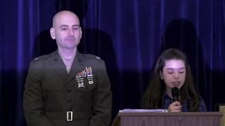 Mill Pond School Veterans Day Ceremony 2018