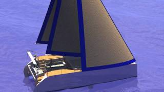 Z40 - Trailerable, Cruising, Sailing Catamaran
