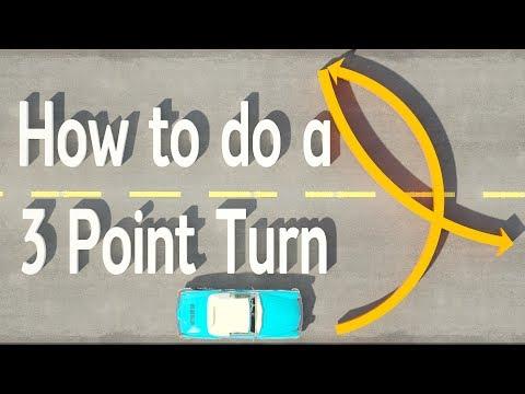 How To Do A 3 POINT TURN [2019] | Three Point Turn, Broken Uturn, K Turn, Y Turn