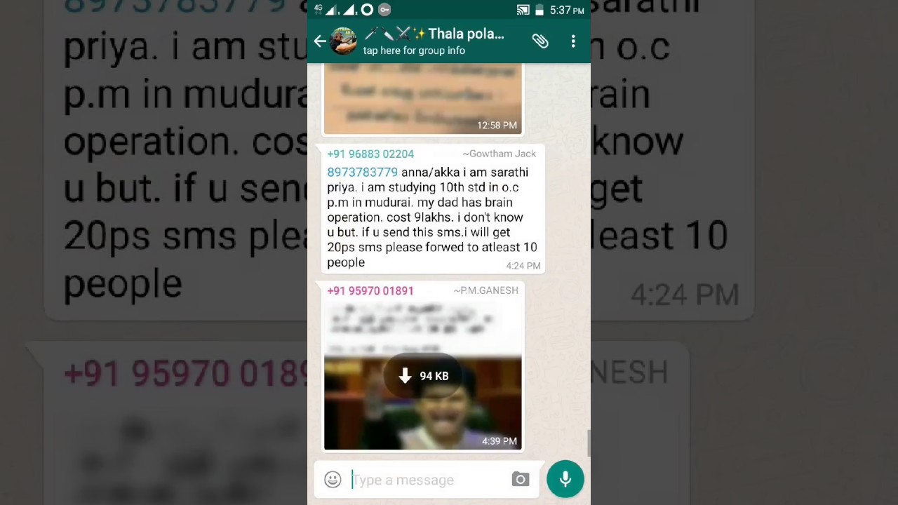 How To Create Group Invite Link In Whatsapp Youtube