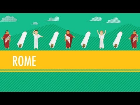 The Roman Empire. Or Republic. Or...Which Was It?: Crash Course World History 10