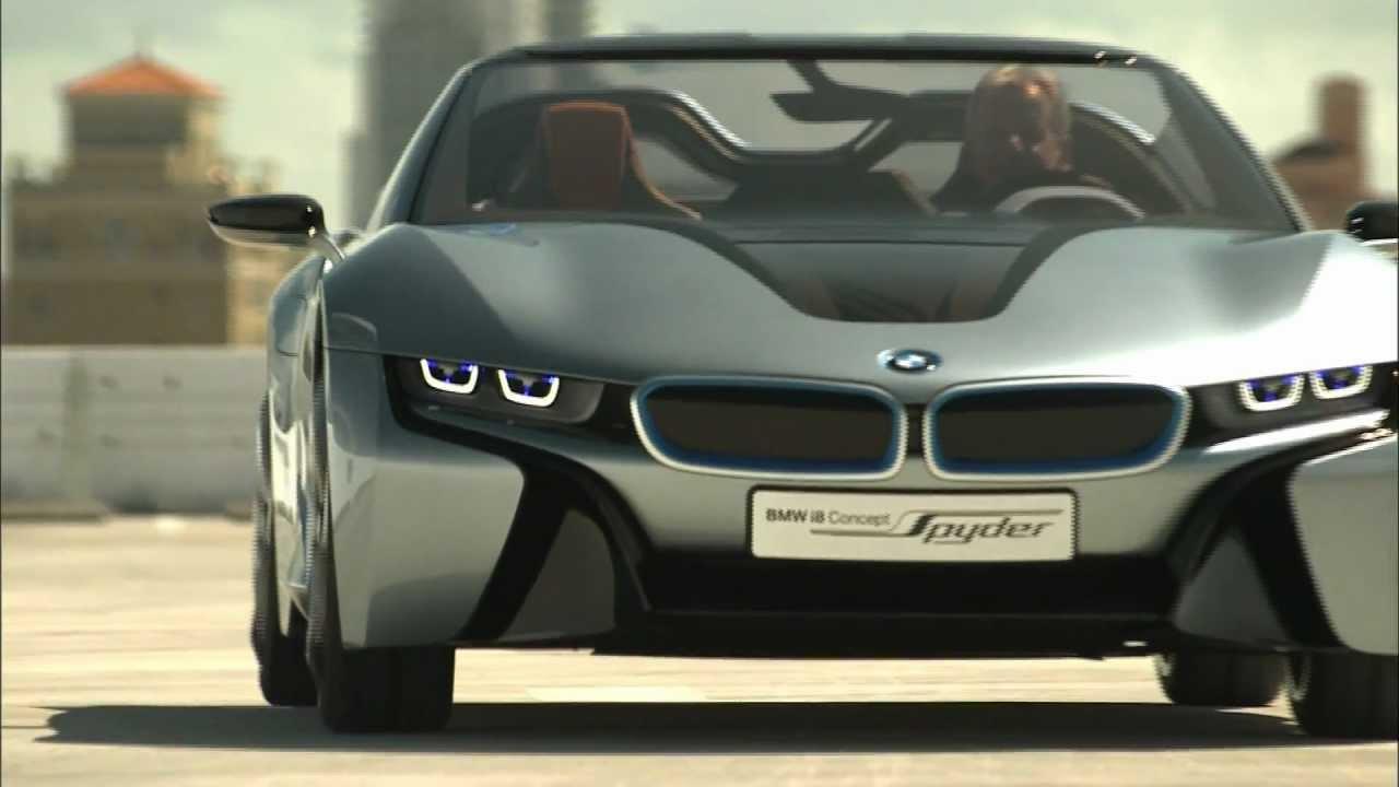 2012 BMW i8 Spyder - YouTube