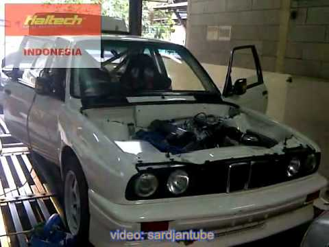 155.7RWHP - Dyno tuning Haltech PS1000 - BMW E30 M3 M42-44 2.0L Rally Car