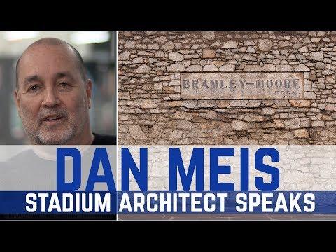NEW STADIUM ARCHITECT SPEAKS