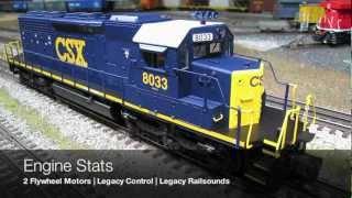 Lionel CSX SD40-2 w/Legacy